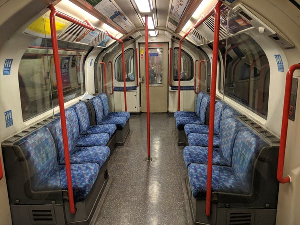 Seat on the tube. How would you feel?