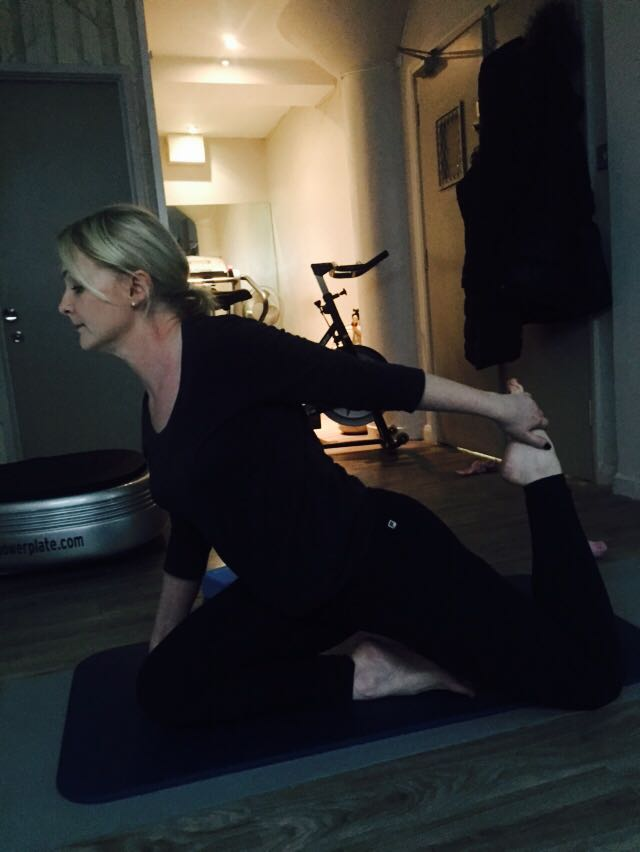 If you do not change what you do – nothing will change. I am taking up Yoga to help me through the Menopause!